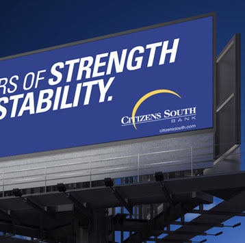 Citizen South Bank Billboard