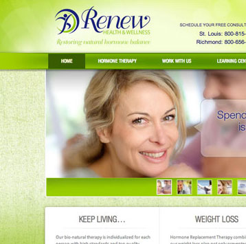 Renew Health & Wellness Website